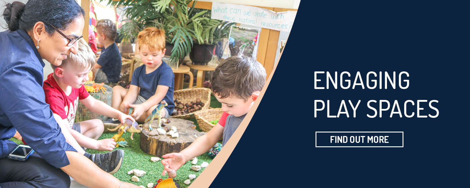 engaging play spaces